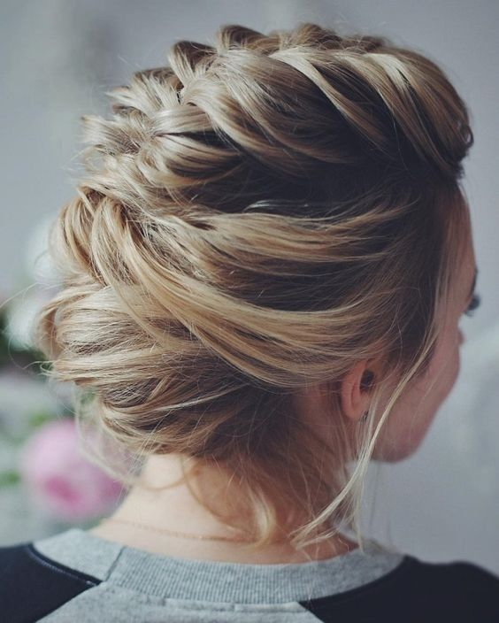 Bun Updo Hairstyle Designs for Women