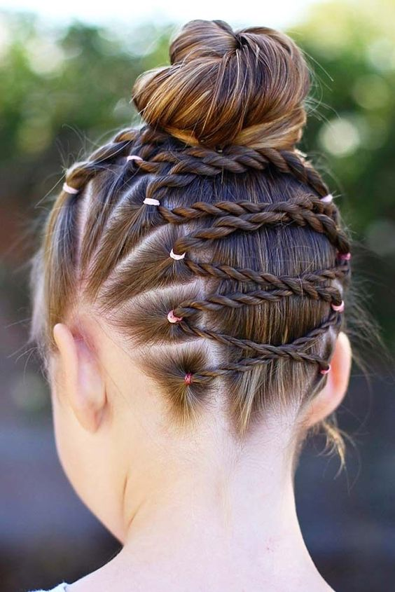 Creative And Cute Girls Hairstyles
