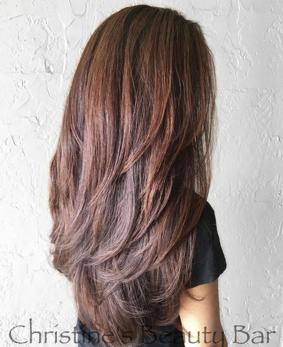 Cute Layered Hairstyles and Cuts for Long Hair