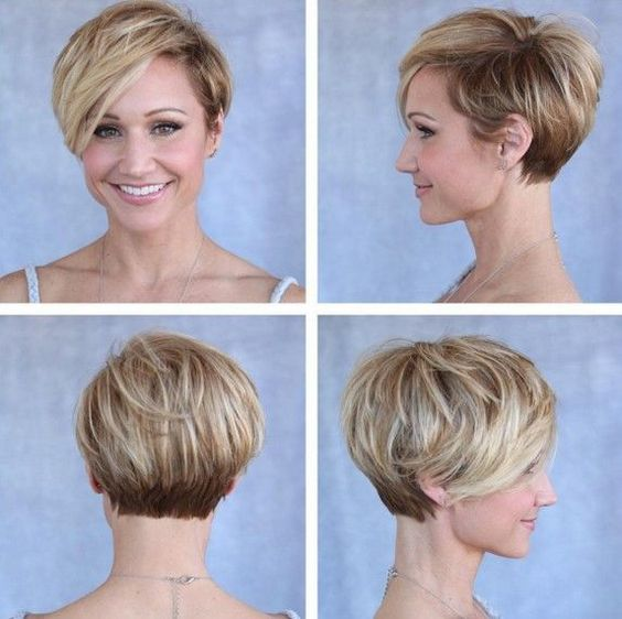 Cute Pixie Cuts Short Hairstyles for Oval Faces