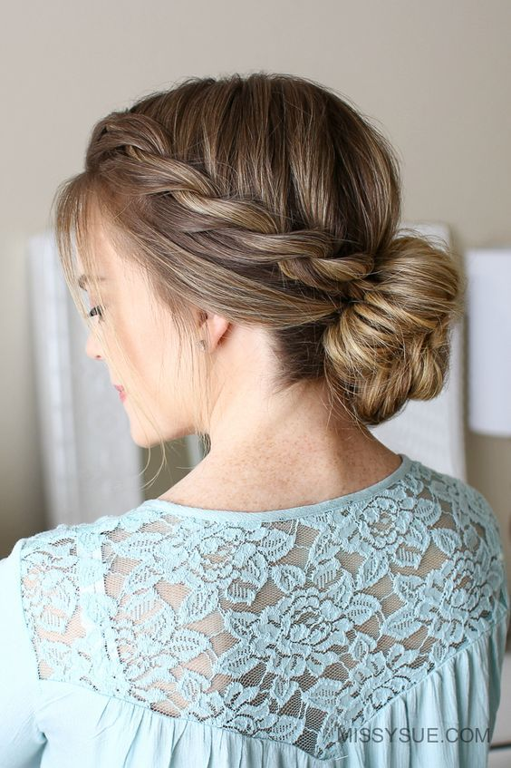 Easy Rope Braid Hairstyles