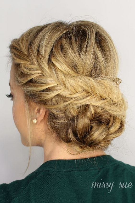 Exciting New Intricate Braid Updo Hairstyles