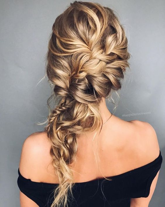 Gorgeous Hairstyle Inspiration updo wedding hairstyle