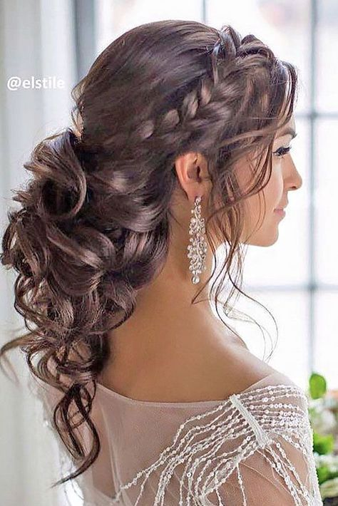 Half up half down wedding hairstyles updo for long hair