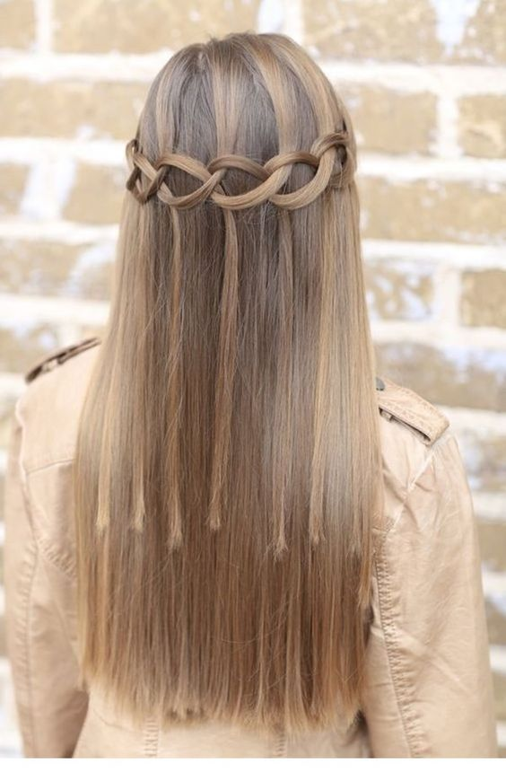 Interesting hairstyle idea