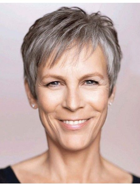 Jamie Lee Curtis Cute Short Pixie Cut Celebrity Style