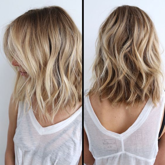 Hottest Balayage Medium Hairstyles