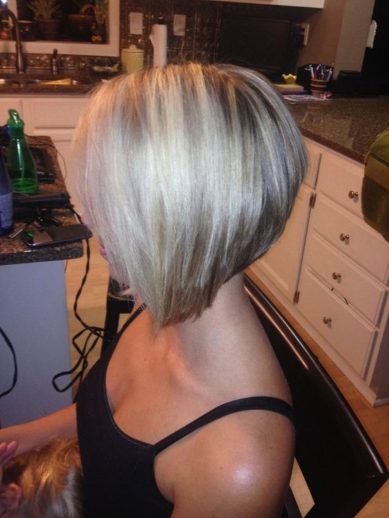 1Chic Stacked Bob Haircuts