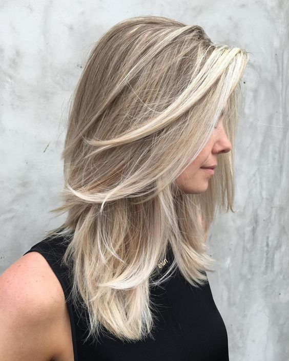 Medium Long Blond Hairstyles 2019 Hairstyle Zone X