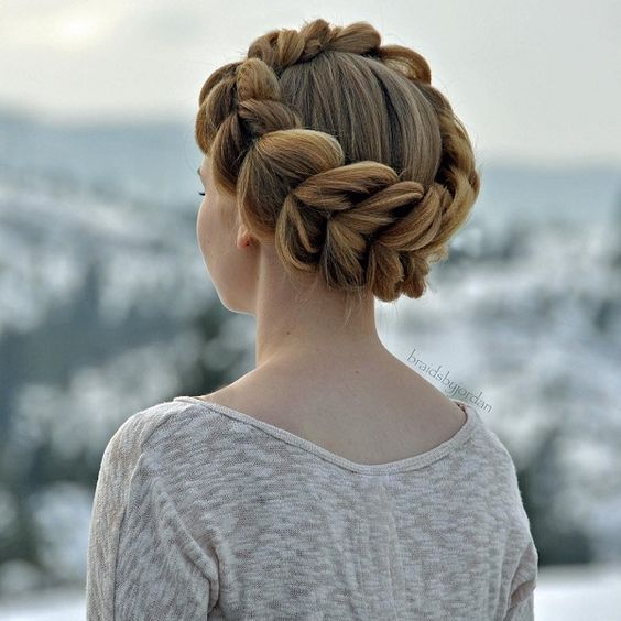 Adorable Braided Hairstyles