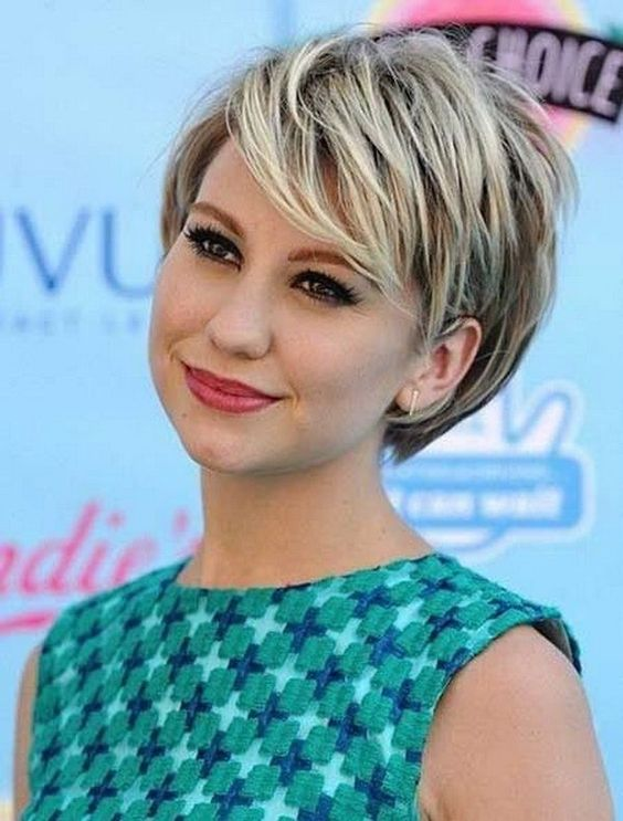 Amazing Cute Short Hairstyles for Round Faces