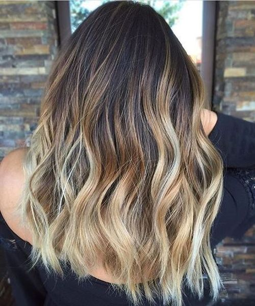 Balayage Ombre Medium Hairstyles to Show Off in 2019