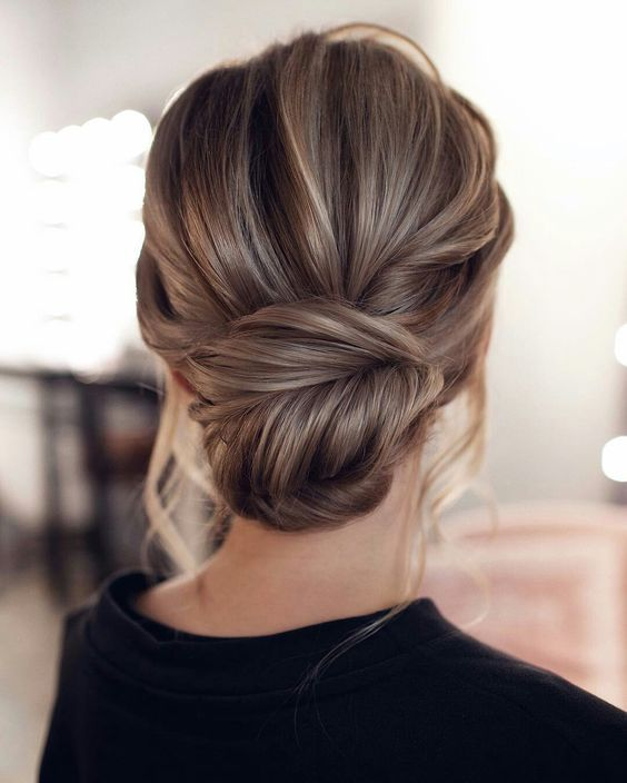 Best Hairstyles 2019 Bun Updo Hairstyle Hairstyle Zone X