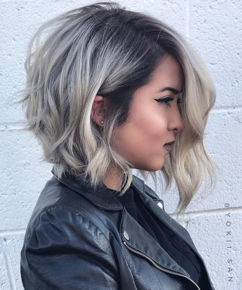 Fresh Layered Short Hairstyles for Round Faces 2019 , Page 3
