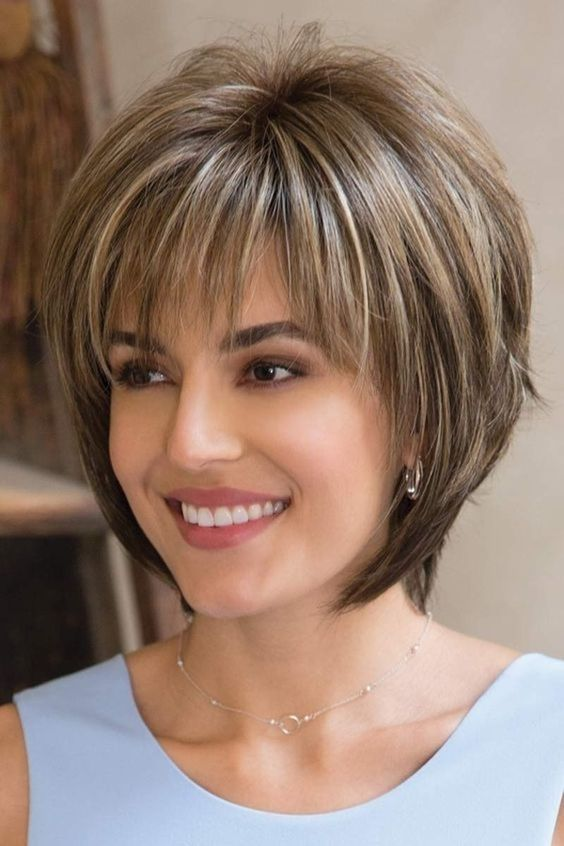Short Layered Hairstyles For Fine Hair 2019 Page 7 Of 35