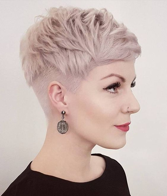 Best Inspiring Pixie Undercut Hairstyles 2019 , Page 3 of 28