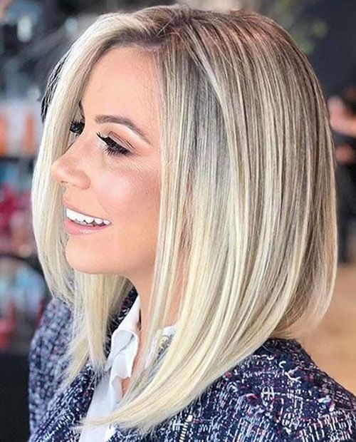 Extremely Popular Angled Bob Hairstyles 2019