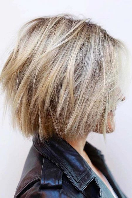 New Short Layered Hairstyles