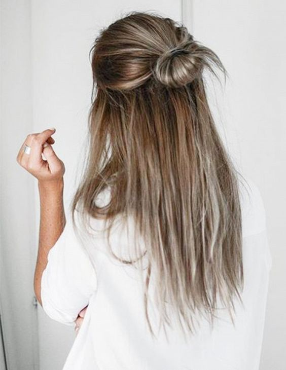 5-Minute Hairstyles for Long Hair