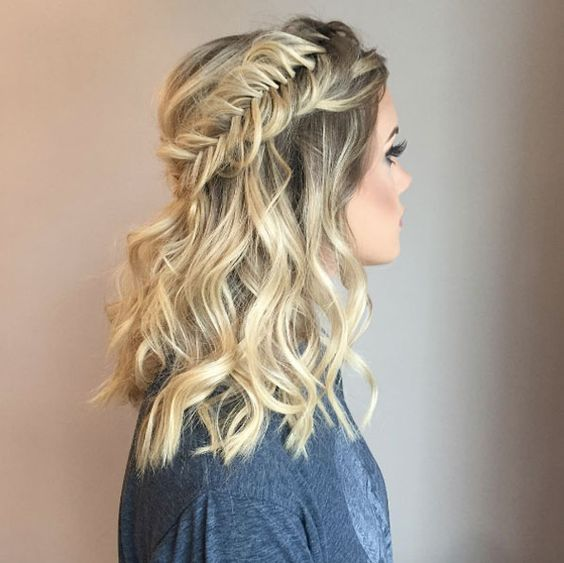 Elegant & Beautiful Fishtail Braid Ideas