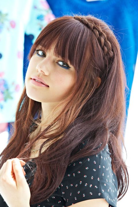 Adorable Hairstyles For Girls With Bangs