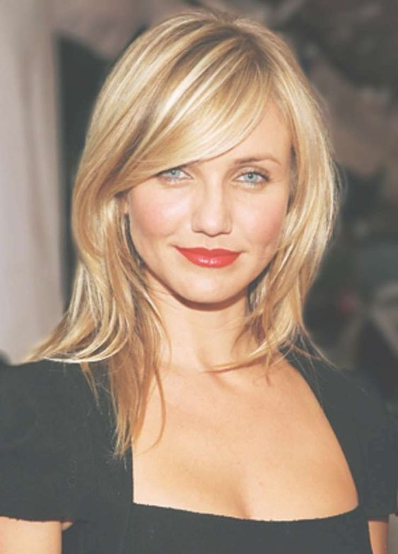 Amazing Hairstyles with Side Swept Bangs 2019