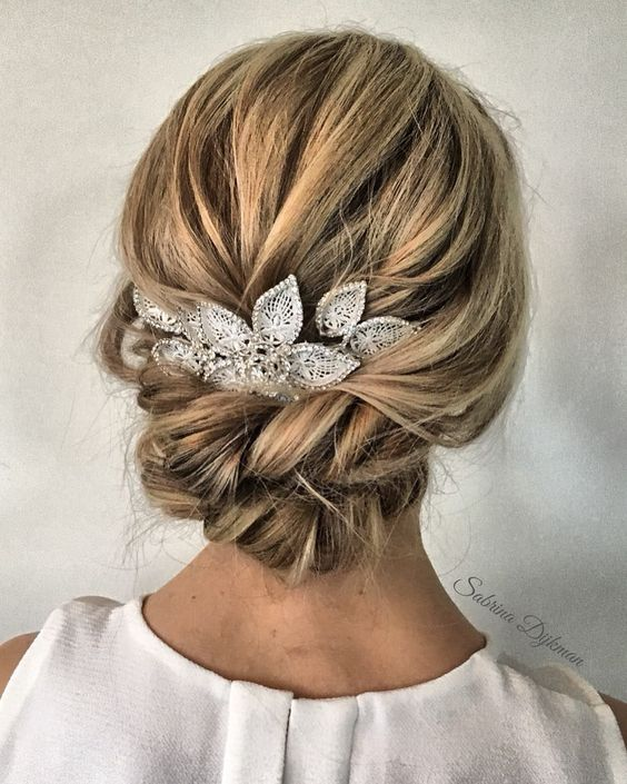 Amazing updo hairstyle with the wow factor