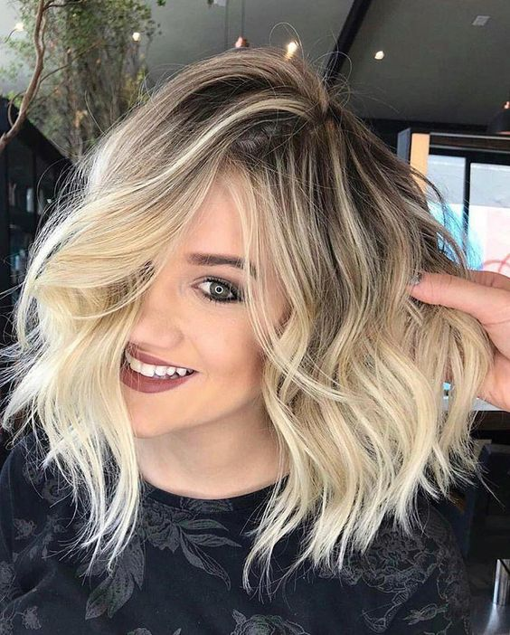 Modern Medium Hairstyles With Bangs For A New Look