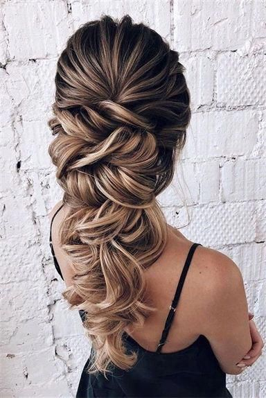 Attractive Wedding Hairstyles for Long Hair