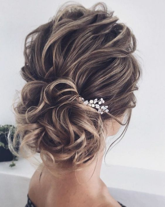 Beautiful Bridal Updo Hairstyle Ideas