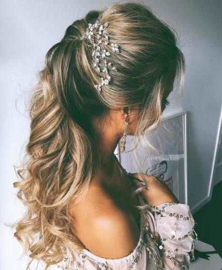 Best Half Up and Half down Wedding Hairstyles