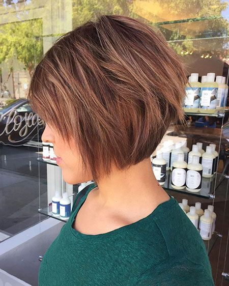 Best Short Straight Layered Bob Hairstyles