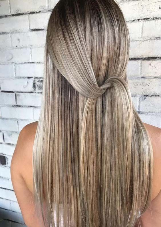 Best Vanilla Blond Hair Colors for Long Hairstyles In 2019