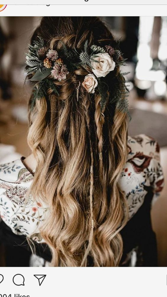 Prime Effortlessly Romantic Bridal Hairstyles With Flowers For Perfect Schematic Wiring Diagrams Amerangerunnerswayorg