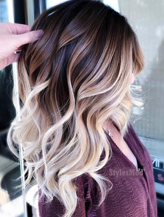 Brilliant Balayage Hair Color Highlight