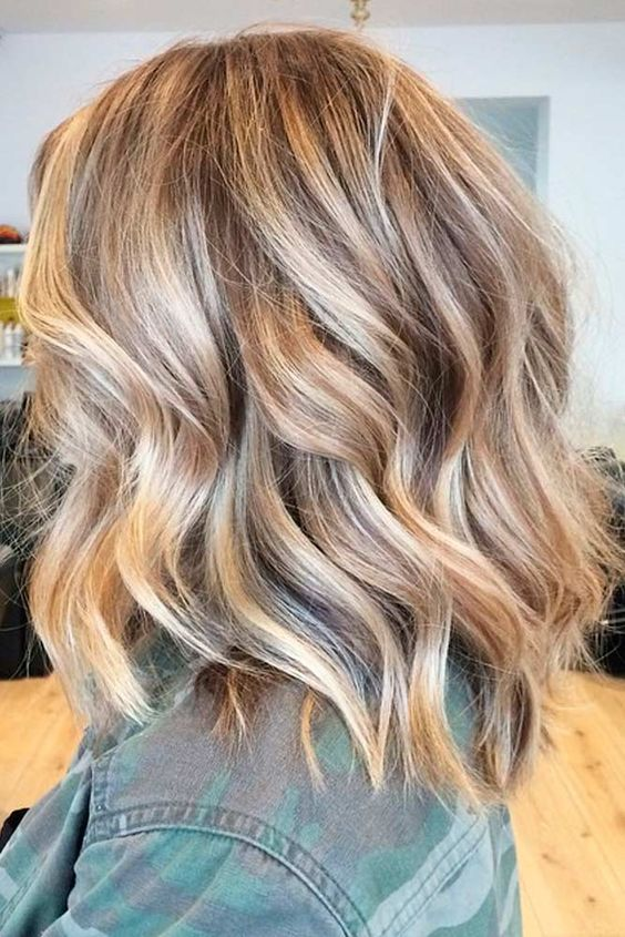 Chic Medium Length Layered Hair