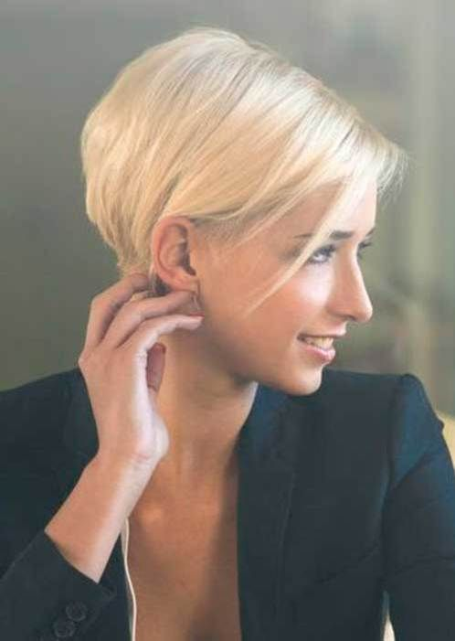 Chic and Sexy Short Hairstyles