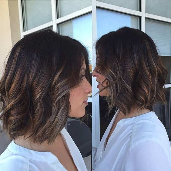 Cool Balayage Ideas for Short Hair