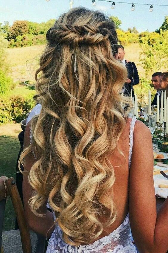 Curly Blonde Hair Style Ideas