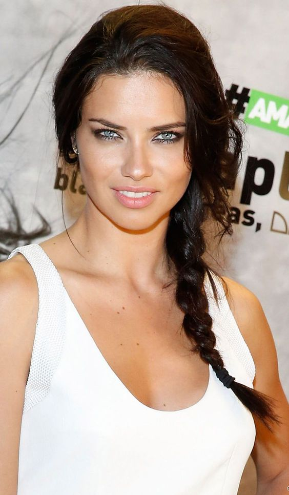Adriana Lima Hairstyles & Haircut Ideas