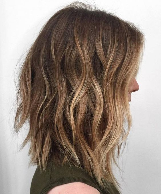 Balayage Hairstyles for Shoulder Length Hair