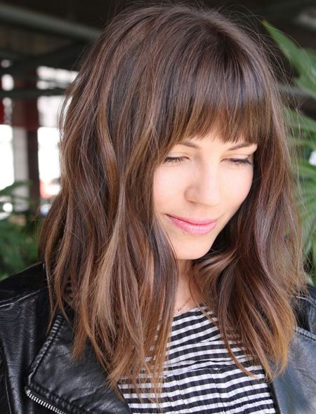 Layered Hairstyles With Bangs 2019 34