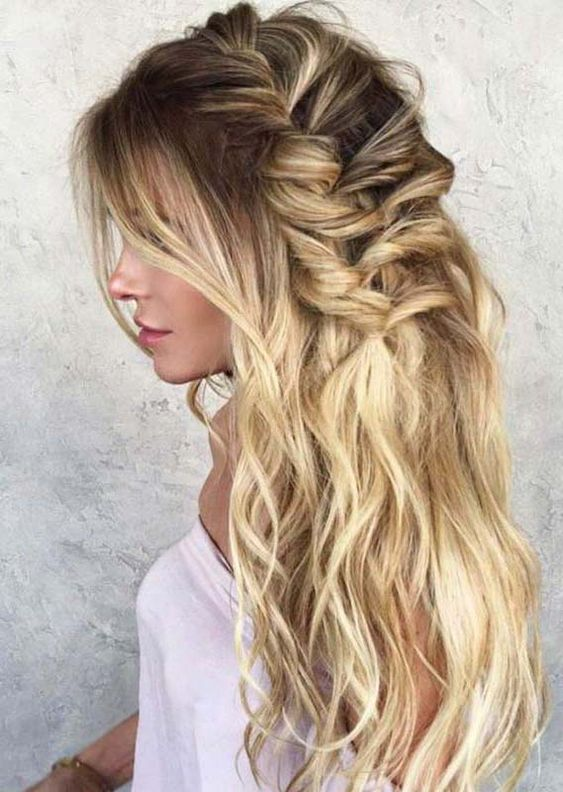 Best Wedding Hairstyles for Long Hair in 2019