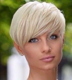 Blonde Hairstyles For Short Hair Ideas