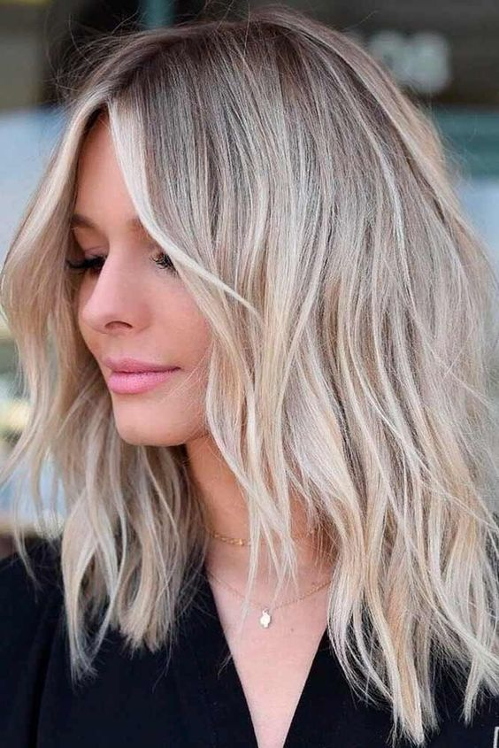 21 Easy Medium Length Hairstyles With Bangs For Women 2019