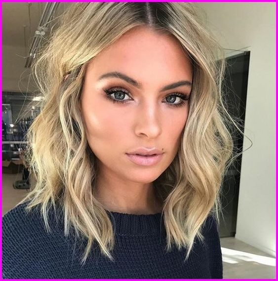 Pretty Easy Medium Length Hairstyles For Thick Hair In