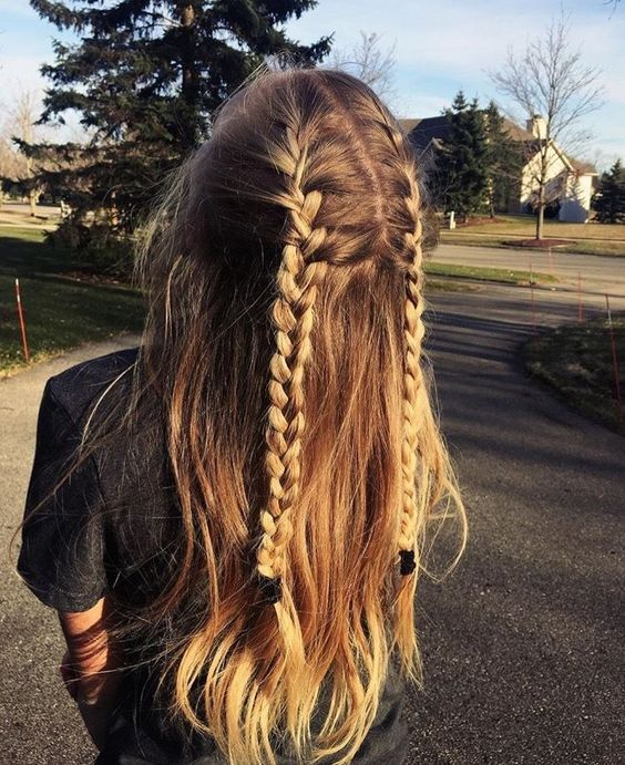 Cute and Easy Long Hairstyles for School for Fall and Winter