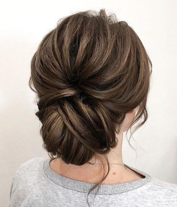Gorgeous Updos for Bridesmaids 2019