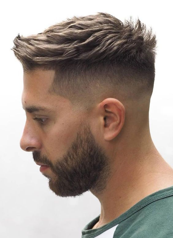 A Classic Military Cut for Men
