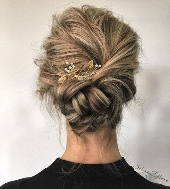 Beautiful Wedding Updo Hairstyle